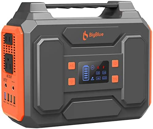 250Wh Power Station BigBlue 67500mAh Portable Electrical Generator with 110V Pure Sine Wave product image