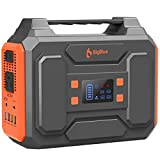 250Wh Portable Generator, BigBlue 67500mAh Power Station with 110V Pure Sine Wave AC Outlets/2 DC/4 USB Ports, Camping Accessories with Fast Charge, CPAP Emergency Backup Battery with Flashlight