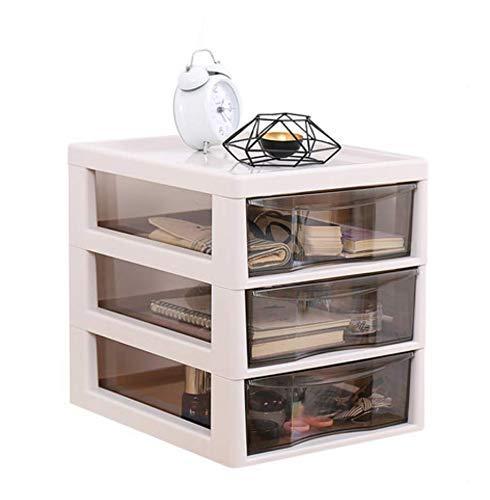 ZHAS Kosmetische Aufbewahrungsbox Kosmetische Aufbewahrungsbox Kunststoffschublade Typ Transparent Schminktisch Hautpflegeprodukte Rack Lippenstift Montage