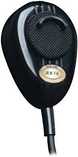 RoadKing RK56B Black 4-Pin Dynamic Noise Canceling CB Microphone