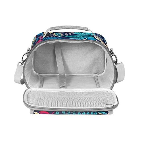 Estuche de transporte para Cricut Joy, bolsa de almacenamiento de viaje, bolsa de almacenamiento espaciosa, portátil, mini prensa de calor y accesorios de base de carga.