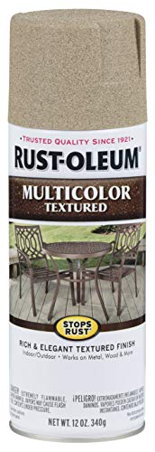 Rust-Oleum 223524 Multi-Color Textured Spray Paint, 12 oz, Desert Bisque