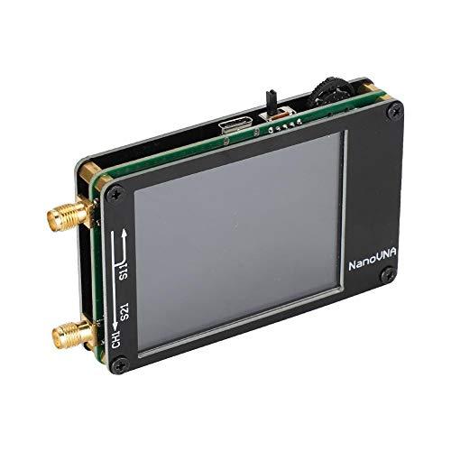 Vektor Netzwerkanalysator, Mini NanoVNA Analyzer 50 KHz-900 MHz 2,8 Zoll TFT Anzeige 400mAh Akuu, MF/HF/VHF/UHF Antenna Stehende Welle Analyzer, DIY Netzwerk-Messgerät
