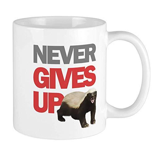 N\A Honigdachs Keine Sorge Tasse Einzigartige Kaffeetasse, Kaffeetasse