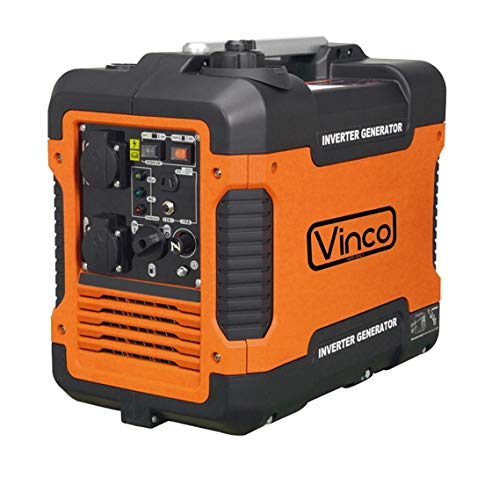 Gruppo elettrogeno/Generatore di corrente INVERTER 2000W - 220V silenziato Vinco - 60156