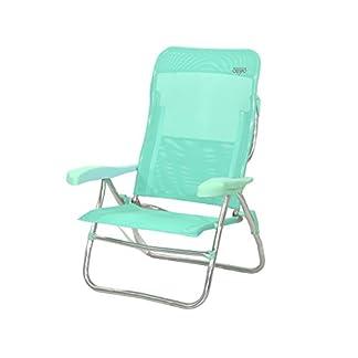 Crespo AL/223-M-06 – Silla-cama playa alta 7 pos.dural.(multifibra)