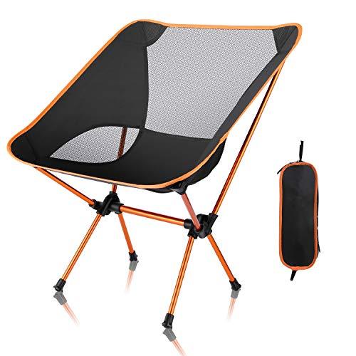 アウトドアチェア 【耐荷重150kg】僅か900g 超軽量設計 コンパクト 折りたたみ 航空級アルミウム合金 安定性向上 キャンプ椅子 お釣り・登山・ハイキング用