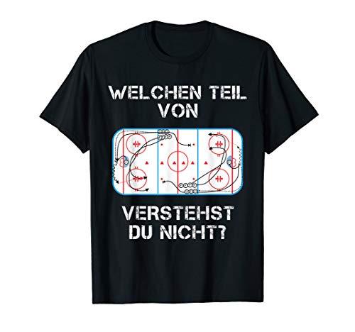 Lustiger Eis Hockey Spruch Shirt Fan Spieler Trainer