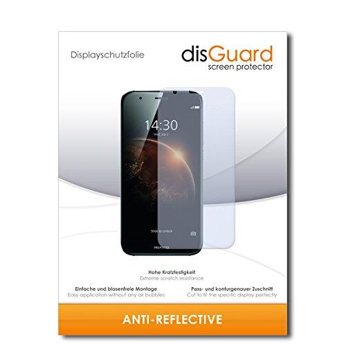 disGuard Bildschirmschutzfolie für Huawei GX8 Dual SIM [2 Stück] Anti-Reflex, MATT, Entspiegelnd, Extrem Kratzfest, Anti-Fingerabdruck - Bildschirmschutz, Schutzfolie, Panzerfolie