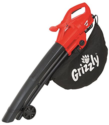 Grizzly Elektro Laubsauger/bläser ELS 2614 2 E Sauger Laubbläser mit leistungsstarkem 2600 Watt Motor