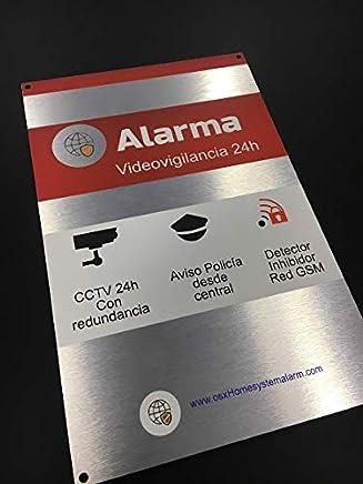 Amazon.es: pegatina alarma: Bricolaje y herramientas