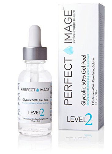 Glycolic Acid 50% Gel Peel - Enhanced with Retinol & Green Tea Extract (Professional Skin...