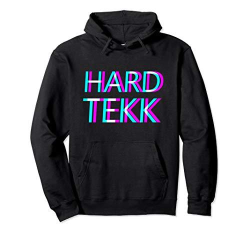 Hardtekk Pullover Tekk Pulli Techno Hardstyle Hardcore Raver Pullover Hoodie