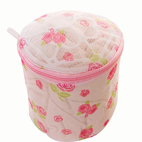 Family Needs 1PCS / LOT Household printen tel ondergoed beha beha wasmachine waszak (Color : Pink, Size : 15 * 15 * 12cm)