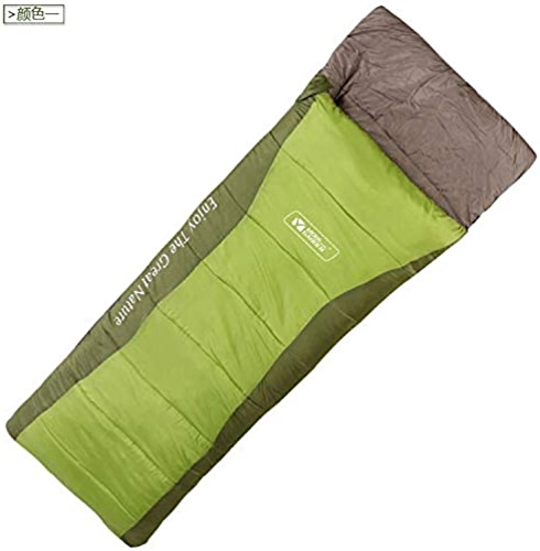 YUHUS Home Mugao équipement de Camping en Plein air Sac de Couchage en Coton Creux enveloppe Adulte Sac de Couchage Sac de Couchage à Capuche (Taille   A)