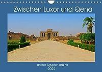 Zwischen Luxor und Qena - antikes Aegypten am Nil (Wandkalender 2022 DIN A4 quer): Unterwegs im antiken Aegypten - historische Bauten am Nil (Monatskalender, 14 Seiten )