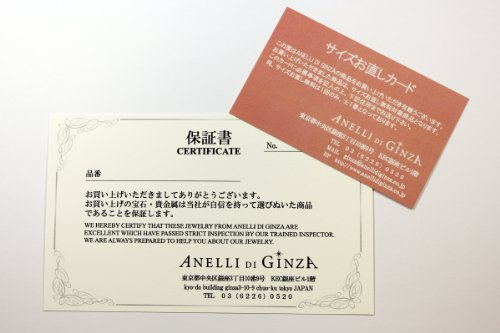 『[アネリディギンザ] ANELLIDIGINZA プラチナ900 ダイヤモンドリング 【0.18ctUP D VVS1 3EX-HC】【鑑定書付】 GRANATA 日本サイズ11号』の4枚目の画像