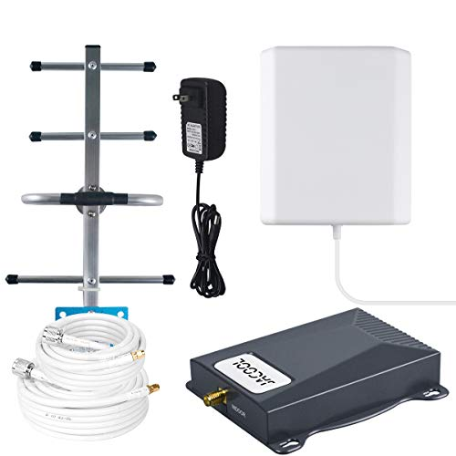 AT&T Cell Phone Signal Booster 4G LTE 700MHz Mobile Signal Booster Band 12/17 ATT T-Mobile Cell Phone Booster Amplifier Repeater for Home 4G