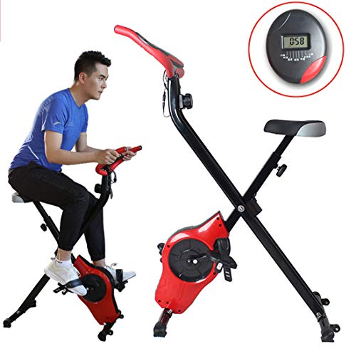 Thuis Dynamic Cycle Machine fitnessbike Binnen fietsen hometrainer met LCD-scherm Weight Loss Fitness Equipment