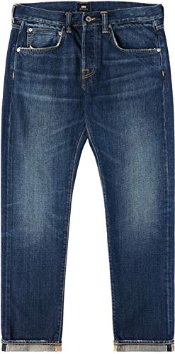 Edwin ED-55 63 Rainbow Selvage Jeans Blue Hikaru Unwashed