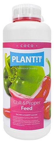 PLANT !T Fertilizante de Chile Y Pimienta para Fibra de Coco, Blanco