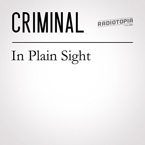 59: In Plain Sight audiobook cover art