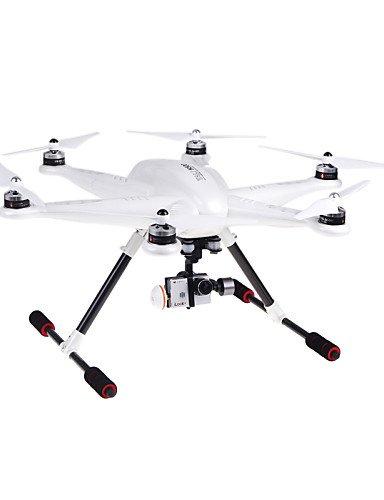 TT&FF walkera tali H500 FPV Kamera iLook + g-3d Gimbal imax b6 Ladegerät devo f12e Sender Quadrocopter , mode 2-white