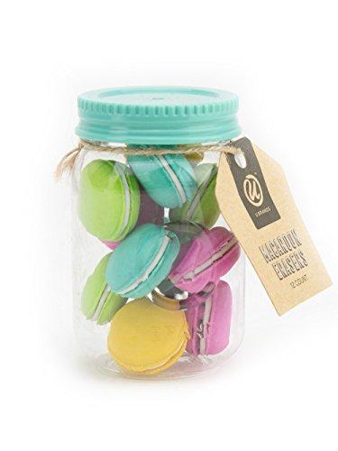 U Brands 12-Count Novelty Food Eraser (Macaroons)