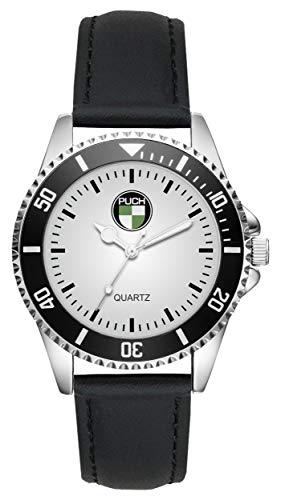 Geschenk für Puch Oldtimer Fans Fahrer Kiesenberg Uhr L-1195