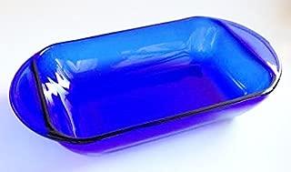 Anchor Hocking Glass 1 Quart 6X9 Baking Pan - Cobalt Blue