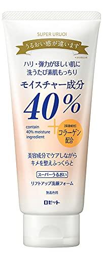 ROSETTE | Facial Washing Foam | SUPER URUOI Lift Up 168g (Japanese Import) by Rosette