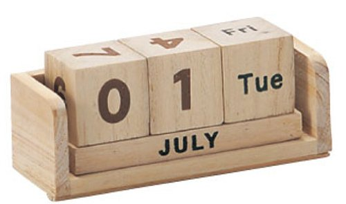 丸和貿易 万年カレンダー プリヤートナ イヤーカレンダー ナチュラル S 400522501