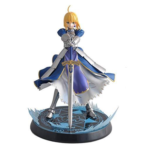 LZG Fate/Stay Night Ubw Saber Knight King Saiba Figura Modelo De Personaje Animado,H:23cm