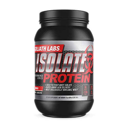 Goliath Labs Isolate Protein 5 Lbs …