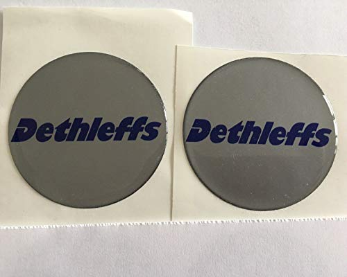 SCOOBY DESIGNS DETHLEFFS Wheel Centre Cap Stickers
