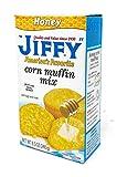 Jiffy America's Favorite Honey Cornbread Muffin Mix - pack of 6