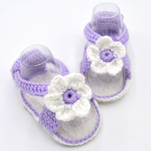Crochet Cute Baby Sandals for Girls
