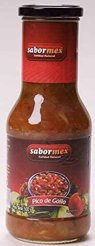 SABORMEX Saus Pico de Gallo voor nacho's – 500 gr saus