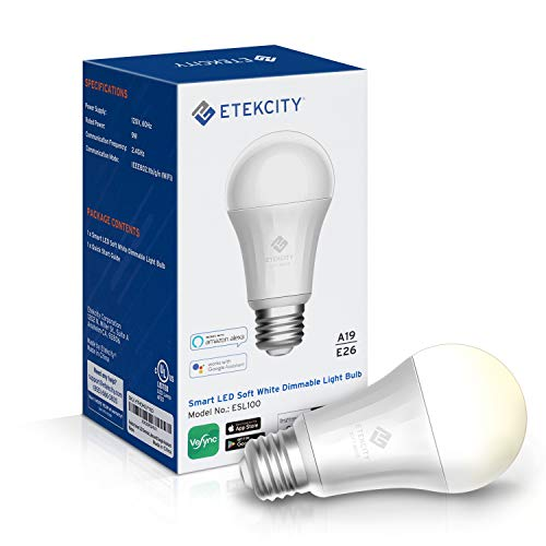Etekcity Alexa Compatible WiFi Smart LED Bulb
