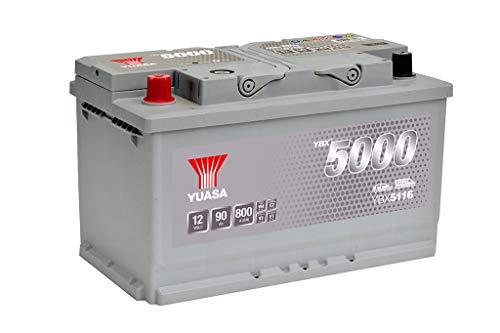 Yuasa YBX5116 Silver Hochleistungs-Starterbatterie