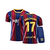 # 10camisetas del barça 2019 2020,Kits de Camiseta de fútbol para Hombre Kits de Camiseta Ropa Deportiva de fútbol para fanáticos del fútbol Camiseta para Adultos Kits-D-L