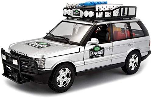 LKOER Modelo de simulación de vehículos Fuera de Carretera Coche 1:24 Aleación Die-Cast de Juguete Juego de joyería Joyería 19.5x7.5x8.5cm jinyang