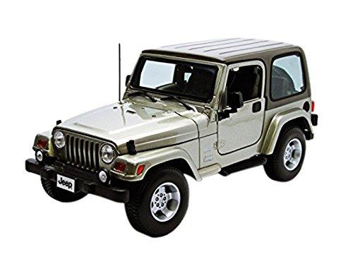 Bburago - 12014c - Jeep Wrangler - Sahara - Échelle 1/18