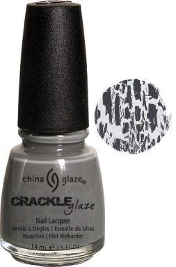 China Glaze Crackle Glaze Nagellack, 14 ml, Cracked Beton