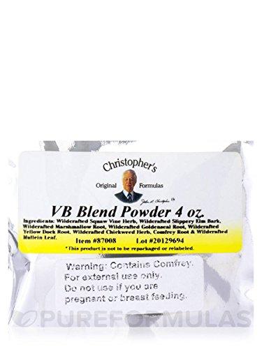 V.b. Blend Powder - 4 Oz by Christophers Original Formulas