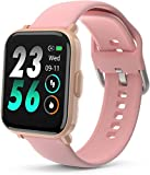 UXD Smart Watch, Fitness Tracker with Sleep Heart Rate Monitor for Atrial Fibrillation,Activity Tracker Pedometer Waterproof Smart Reminder for Phone