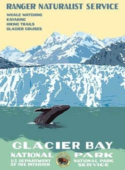 Ford Glacier Bay National Park Poster