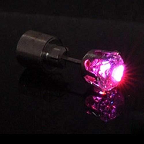 Peanutaod Modische leuchtende Ohrring-Tanzparty-Zusätze des Ohrring-LED leuchten LED Bling Ohrstecker Ohrring