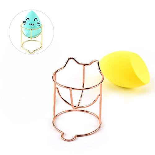 Makeup Sponge Holder,Beauty Blender Holder, Drying Rack Stand Makeup Egg Sponges Support Display Stand Makeup Tools Organizer Case Kitten