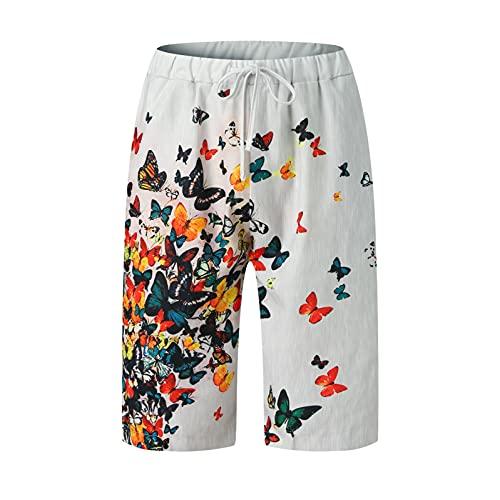 D-Rings Shorts Herren Straight Leg Hose...